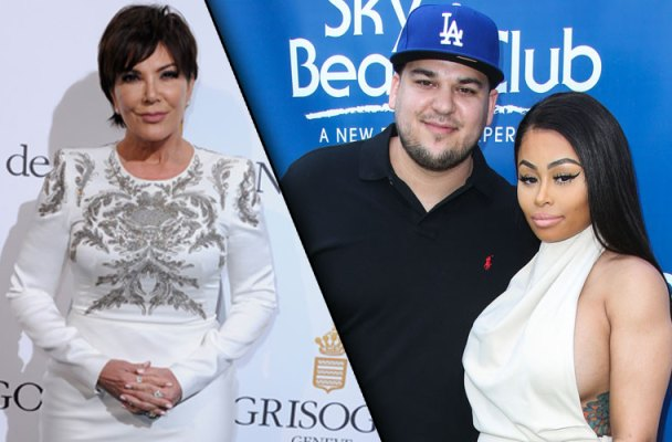 rob kardashian engaged blac chyna kris jenner shocked kuwtk video clip