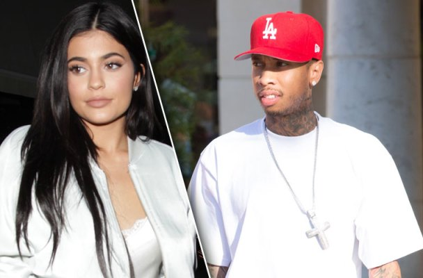tyga kylie jenner dating back together north west birthday party