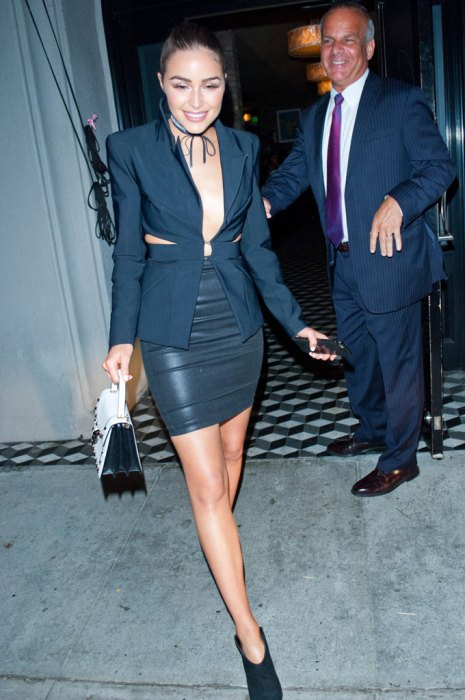 Olivia Culpo keeps it classy and sultry at Craig's