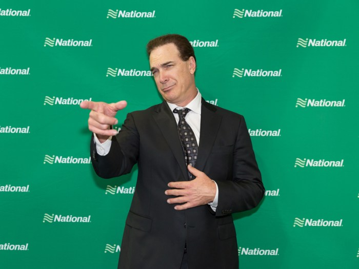 Patrick Warburton For National Car Rental Go Like A Pro Campaign