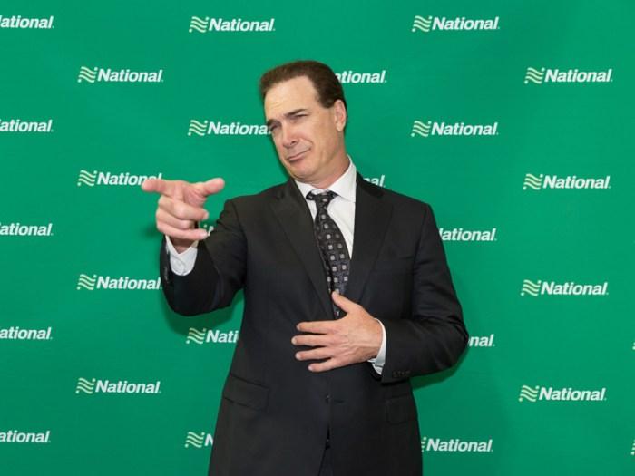 Patrick Warburton For National Car Rental Go Like AProCampaign