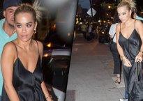 Rita Ora Braless Parties Mystery Man NYC Video