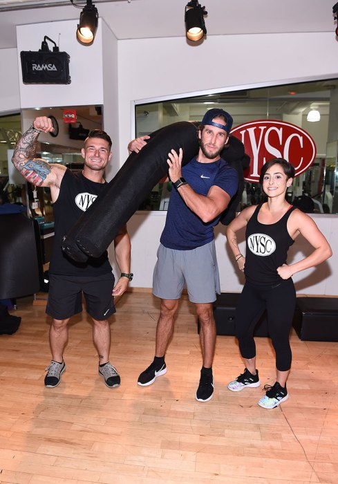 Shawn Booth Celebrates First Responders Appreciation Month At New York Sports Clubs