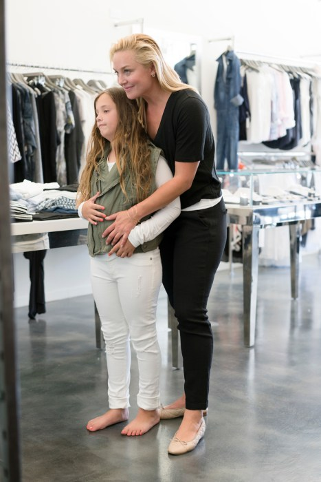 Lis Rohm at Glamboutique with daughter1