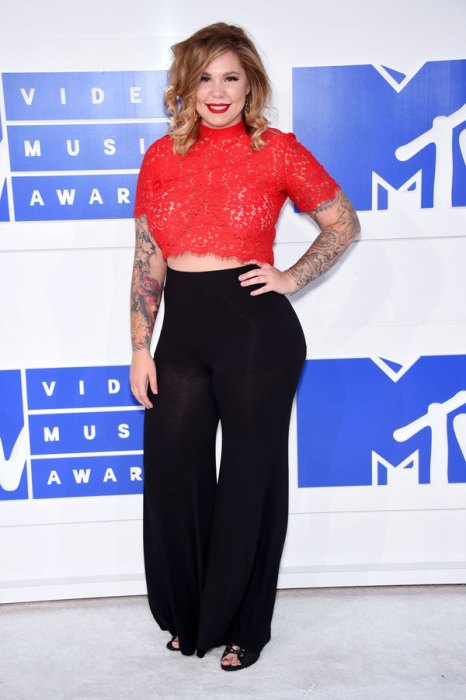 Kailyn Lowry Suffers A Wardrobe Malfunction On The Red