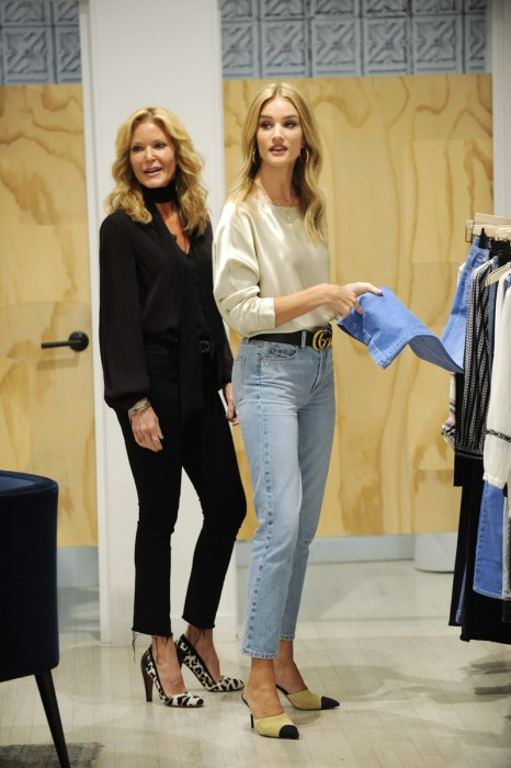 Rosie Huntington-Whiteley At The PAIGE Store