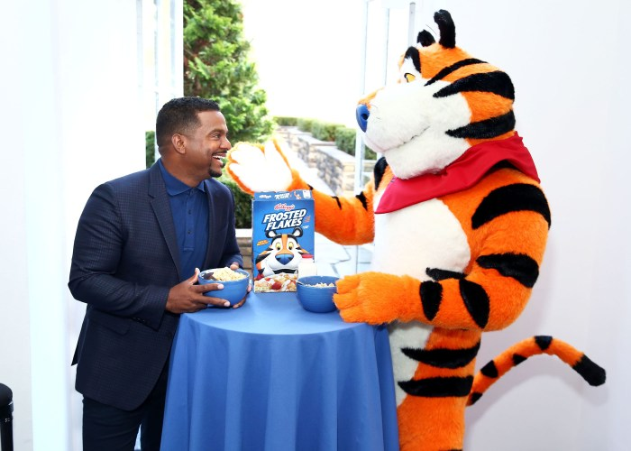 Tony the Tiger and Alfonso Ribeiro Announce the Kellog's Frosted Flakes 'Let Your Gr-r-reat Out' Campaign