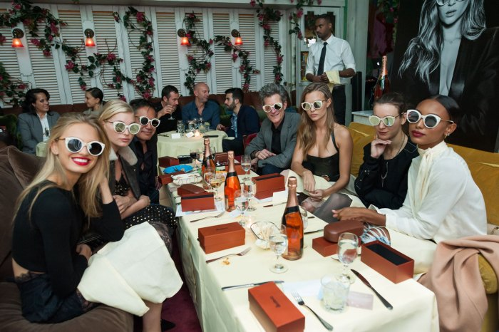 JOSEPHINE SKRIVER x illesteva dinner : Benefiting Keep A Child Alive, Presented by Moet