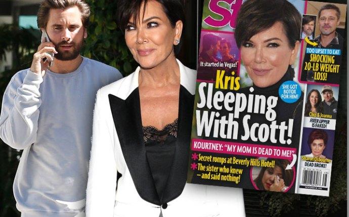 Kris Jenner Scott Disick Affair Scandal Kourtney Kardashian Hotel Secrets Pics 1