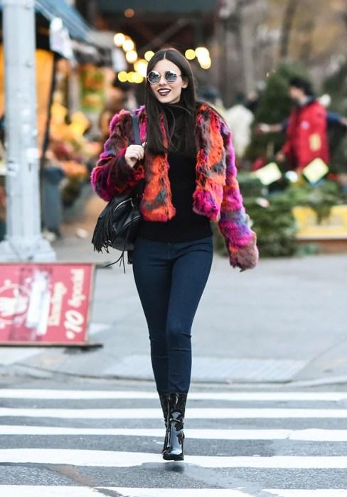 Celebrity Sightings in New York City - December4,2016