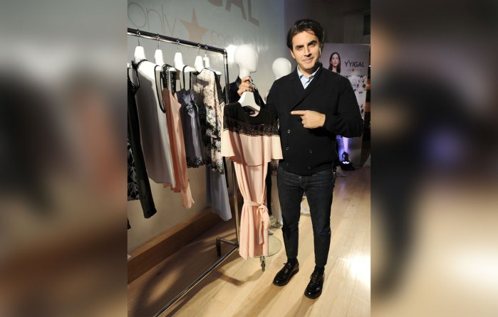 Yigal Azrouel celebrates the launch of YYigal, available exclusivelyatMacy`s.