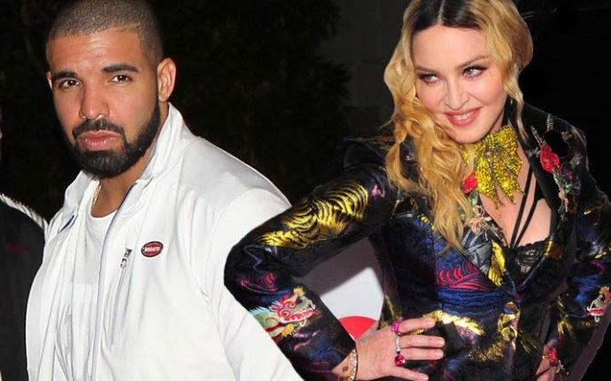 Madonna dating drake