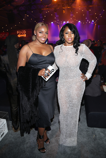 Nene Leakes and Remy Ma at Remy Martin Presents Warner MusicBlockParty