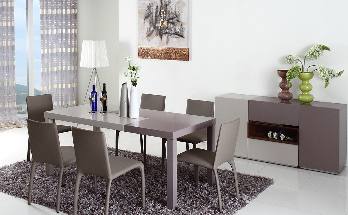puzzle modern two tone dining table two tone kitchen table More Views