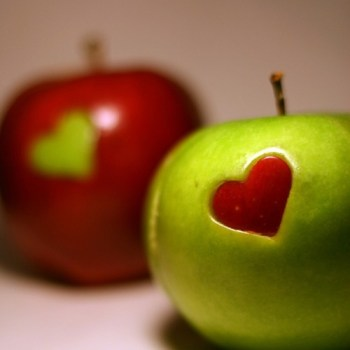 Apple Heart Cutouts
