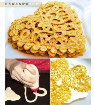 Pancake Lacy Art