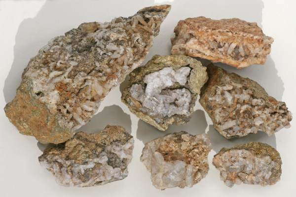 Quartz Crystal Clusters from Creede, CO