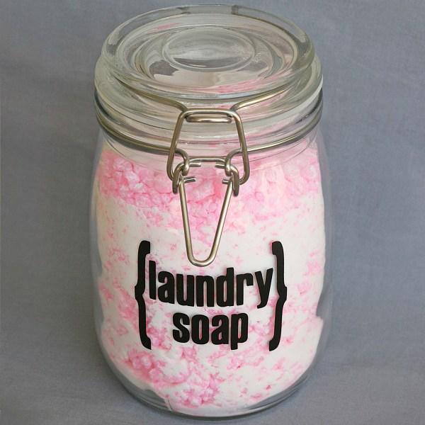 cheap home-made powder laundry soap
