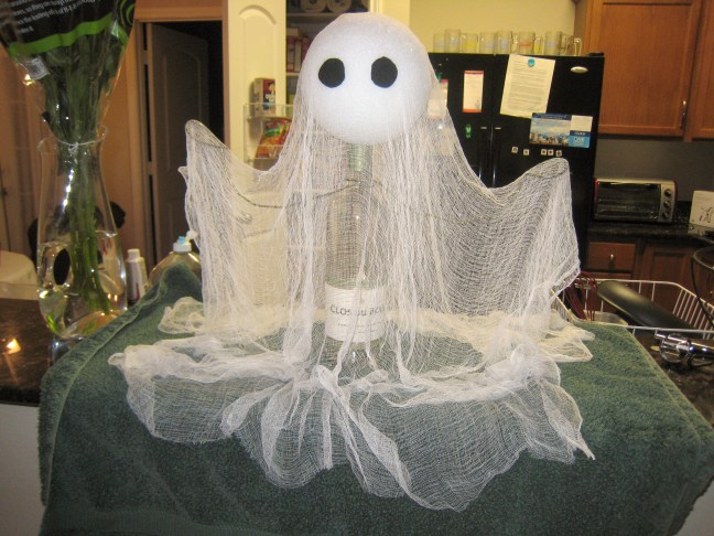 cheesecloth halloween ghost