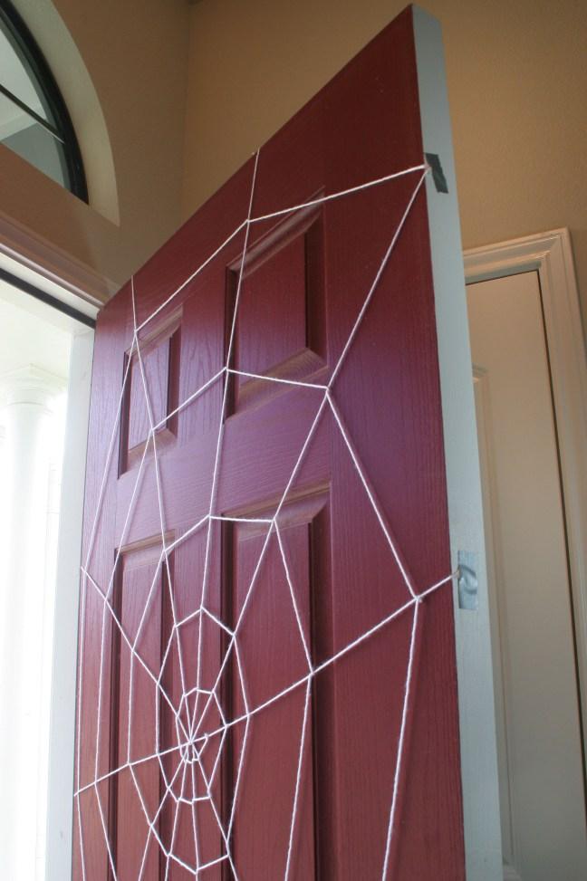 Halloween Yarn Spiderweb