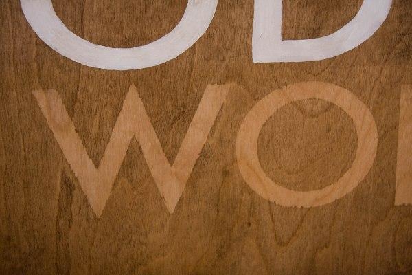 Wood Stain Stencil