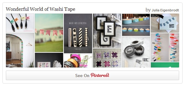 Pinterest Washi Tape Ideas