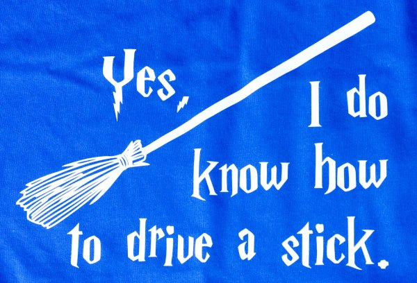 Quidditch shirt design