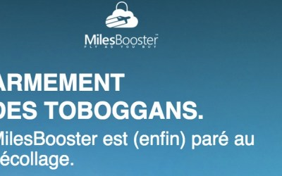 MilesBooster : Fly as you buy.