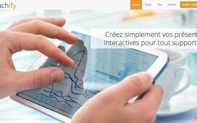 Touchify : Créez simplement vos présentations interactives pour tout support tactile.