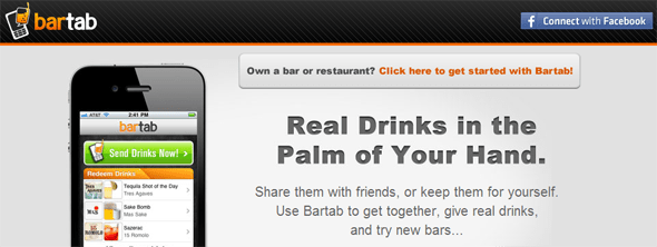 Bartab - StartUp Featured on StartUpLift