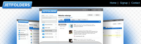 JetFolders - StartUp Featured on StartUpLift