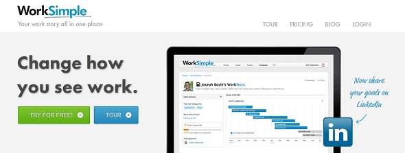WorkSimple - Startup Featured on StartUpLift