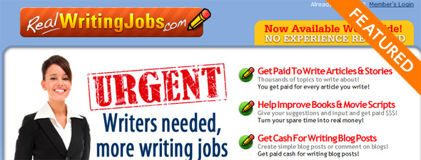real writing jobs com