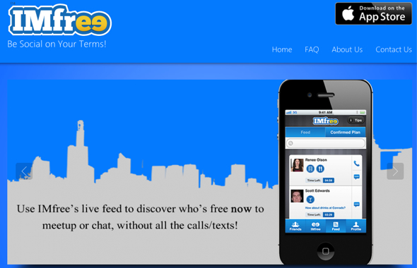 IMFree-startup-featured-on-StartUpLift-for-Startup-Feedback-and-Website-Feedback