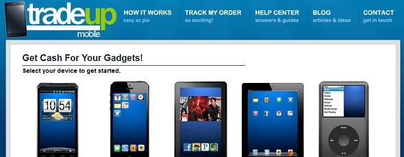 tradeupmobile - startup featured on StartUpLift for website feedback