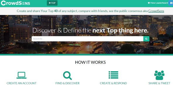 CrowdSens - startup featured on StartUpLift