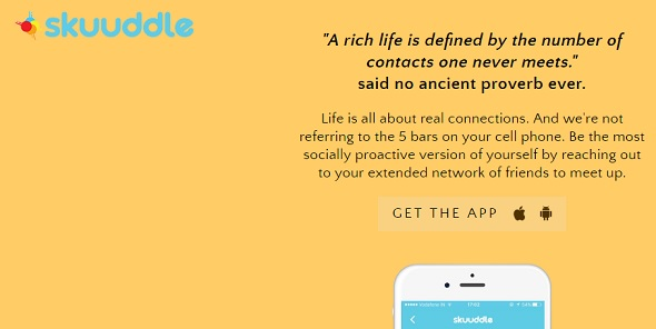 skuuddle-startup featured on StartUpLift