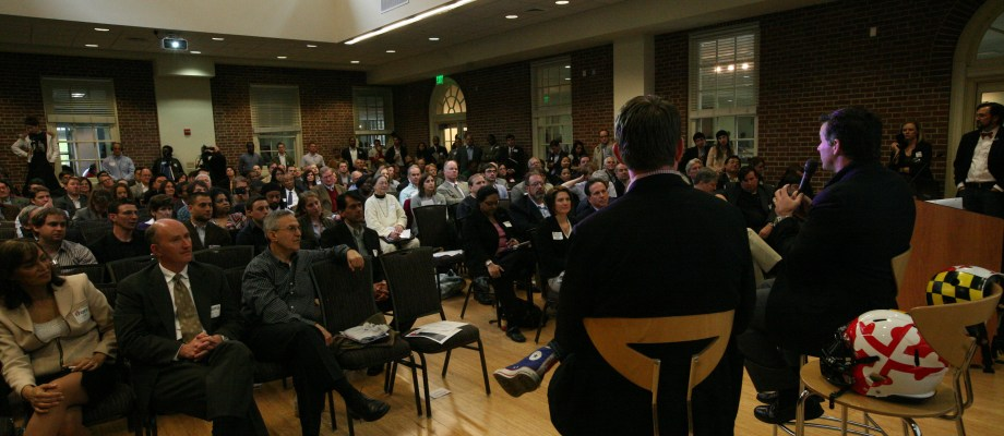 Kevin Plank Packs the House for Startup Maryland Launch …