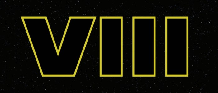 Principle Photography Has Officially Wrapped On Episode VIII