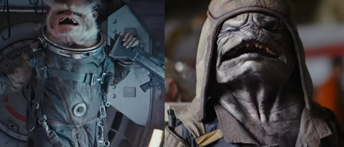 Names & Details For Two Alien Characters In Rogue One