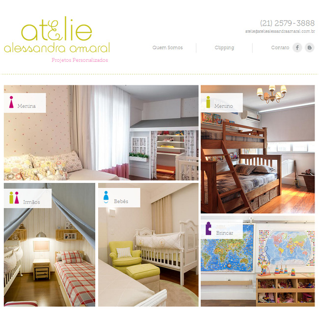 Fresh and Unique Interior Design Portfolios Atelie