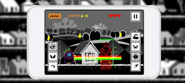 Dubstep Runner - electro game