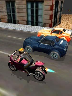 Illegal Night City Bike Racing