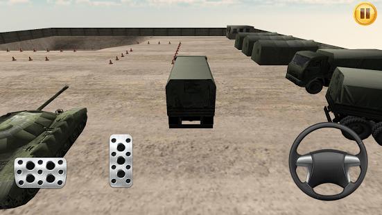 Army Car Parking