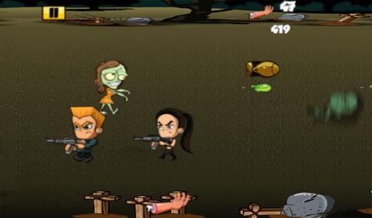Zombies Escape The Humans