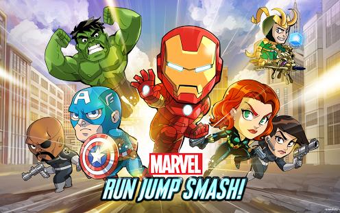 Marvel Run Jump Smash!