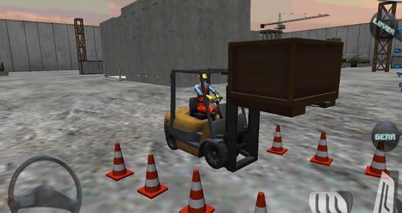 Forklift madness 3D simulator