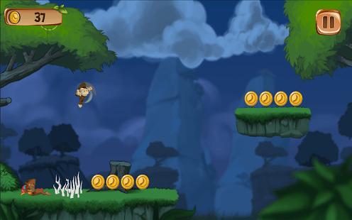 Banana Island–Monkey Run Game