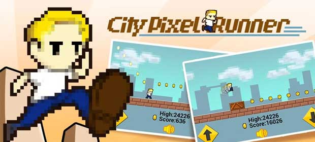 City Pixel Runner