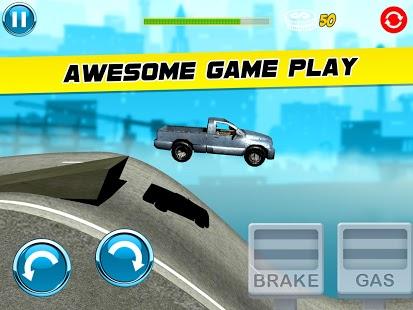 3D FAST CAR STUNT HILL CLIMB